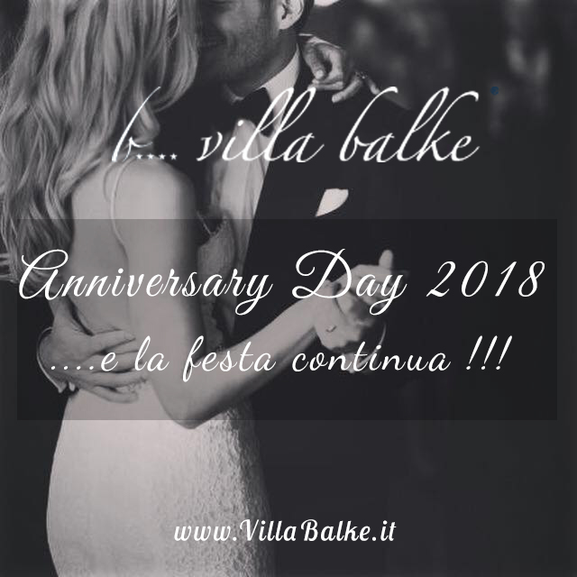 AnniversaryDay2018 - VillaBalke
